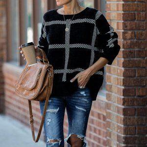 Vici Oversized Chenile Sweater